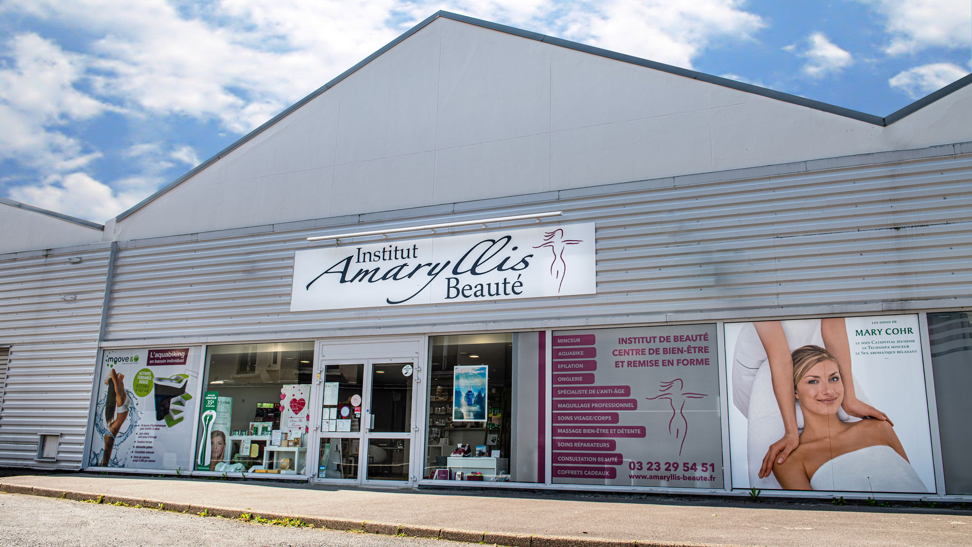 Institut de beauté Amaryllis à Laon - Aisne